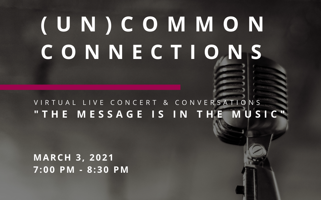 """(UN)COMMON CONNECTIONS: """"The Message is in the Music"""" by Kontakt Kollektiv"""